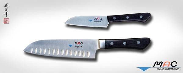 Pro Series Santoku Set 2 PCS (MS-46) - MAC Knife