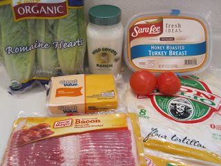 Turkey & Bacon Ranch Wraps - Life In The Lofthouse