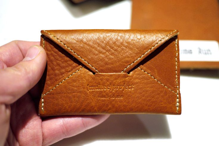 Leather Goods Project leather card cases