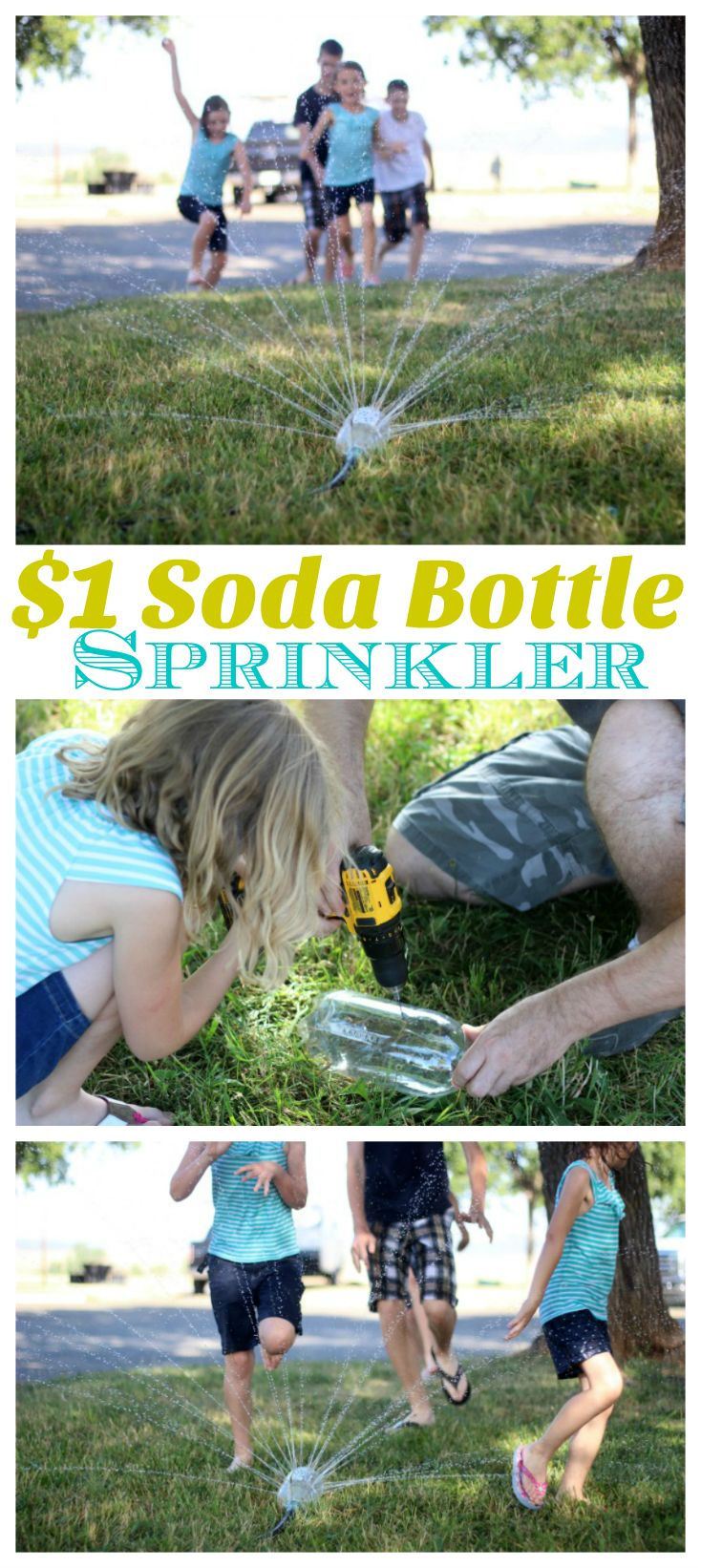 What can you make with a 2-liter soda bottle and some tape? Why, the best sprinkler around, that's what! We've teamed up with Little Passports site to share the full tutorial on their …