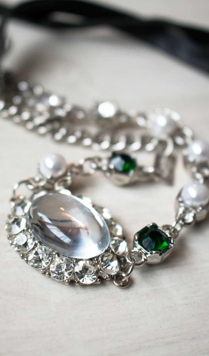 Sparkly headband aka necklace!