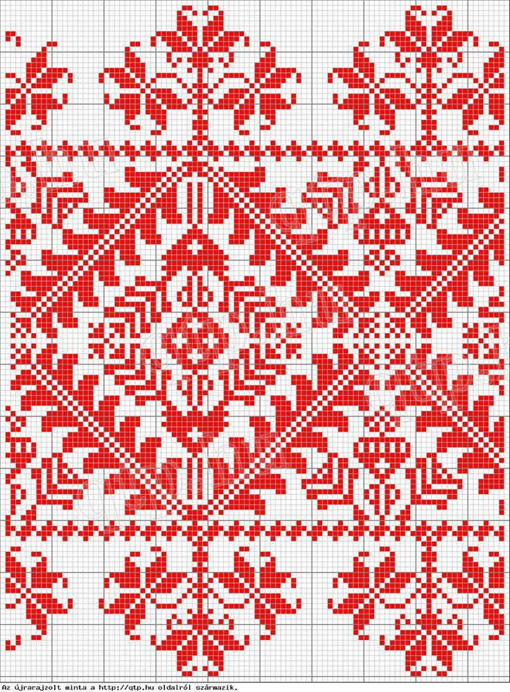 Hungarian cross stitch pattern