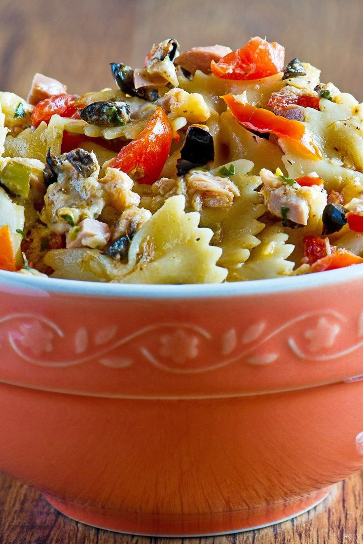 Tuna Pasta Salad (Weight Watchers)