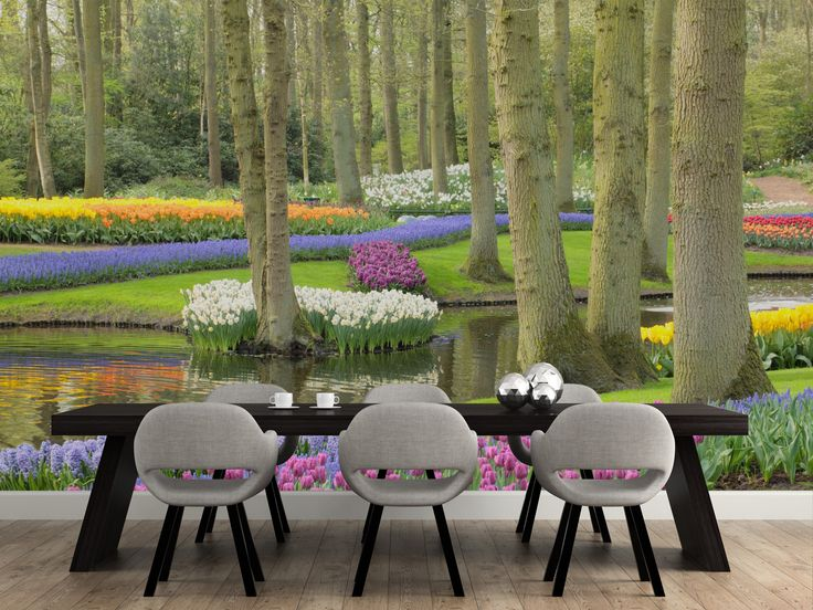Garden Wall Murals Ideas 15 best bringing the outdoors in images on pinterest mural ideas keukenhof flowers gardens wall mural workwithnaturefo