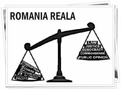 romania reala alb negru