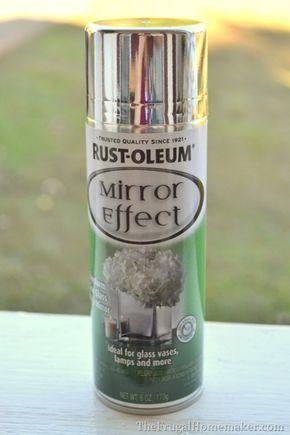 Rust-Oleum Mirror Effect spray paint