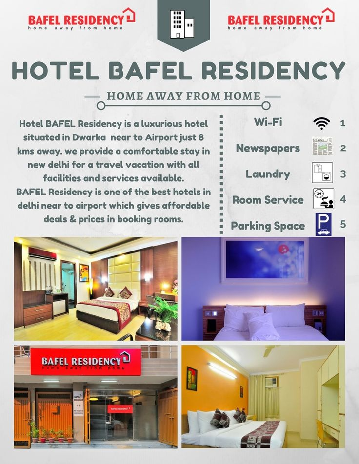 Hotels In Dwarka Delhi New Bafel Residency Provides Luxurious Rooms At Best Packages And Prices Hotel Is Situated Near