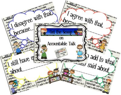 Ms. Jones' Junction: Accountable Talk and a Freebie