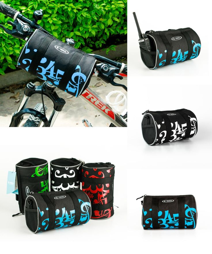 [Visit to Buy] Folding bikes Bicycle Bag Front Mountain Bike Handbar Bag Panniers Cycling Basket Bicycle Acessorios Bolsa Para Bicicleta #Advertisement