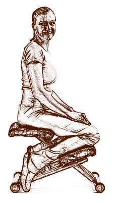 Térdeplőszék - egészséges élet, egészséges ülés