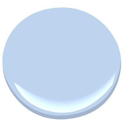 """Benjamin Moore's 2067-60 Windmill Wings—This hue is """"a breezy blue with just a touch of red in it for warmth,"""" he says. """"The perfect color to evoke a cloud-free summer sky.""""  Read more: Interior Designers Favorite Paint Colors - ELLE DECOR  Follow us: @ELLE DECOR on Twitter 