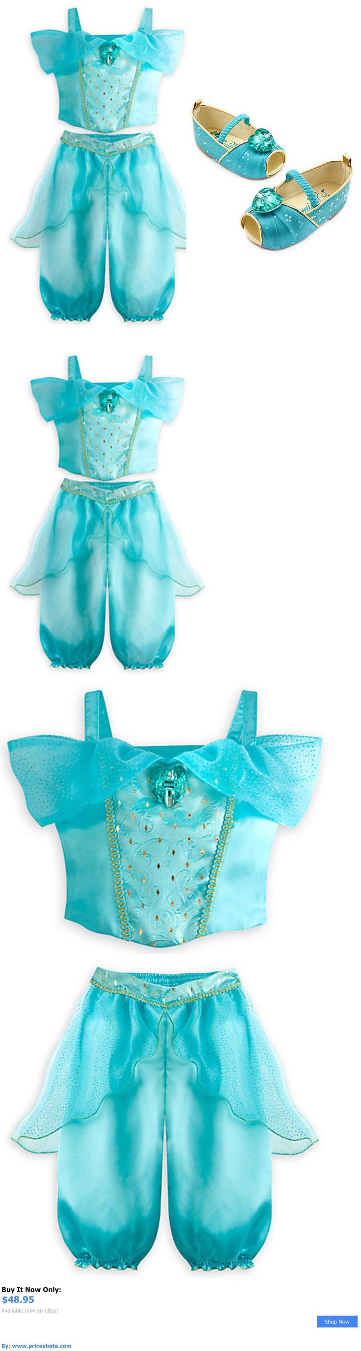 Kids Costumes: Disney Store Aladdin Princess Jasmine Blue Costume Baby/Toddler 18-24 Months BUY IT NOW ONLY: $48.95 #priceabateKidsCostumes OR #priceabate
