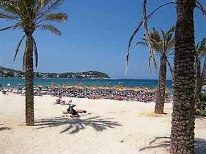 Had a great holiday here with me sisters ;) Santa Ponsa beach, Majorca