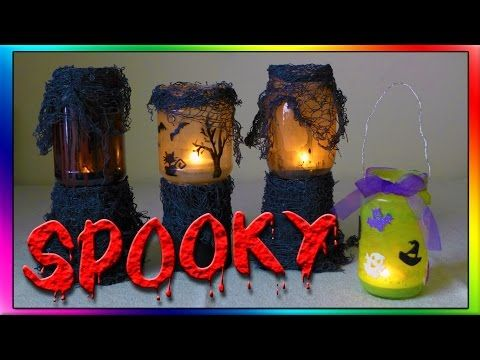 halloween crafts by easymeworld 4 tealight halloween crafts this is a step by step tutorial on how to make halloween tealight o - Youtube Halloween Crafts