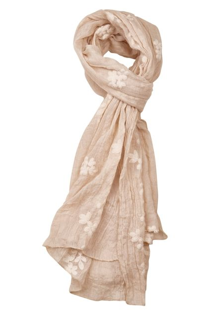 Holiday Clothing Aziza Scarf In Natural