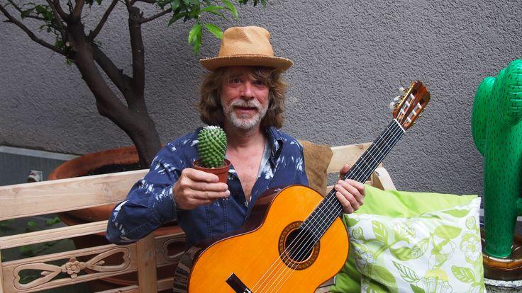 helge schneider zur pk von sommer, sonne, kaktus