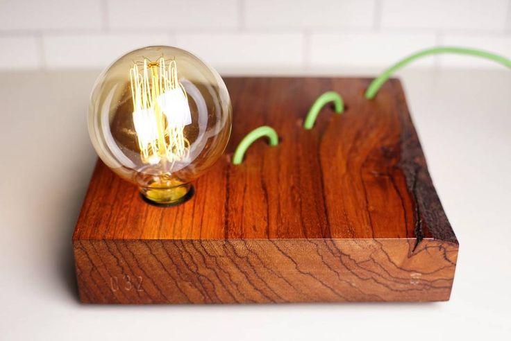 #vscocam #telltaledesign #telltale #design #wood #woodenlamp #woodworking #ovang…