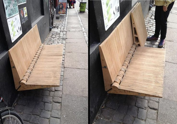 Wall bench
