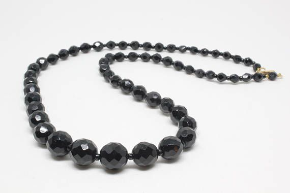 VARIOUS SIZES AVAILABLE BLACK GLASS PEARL CRAFT BEADS
