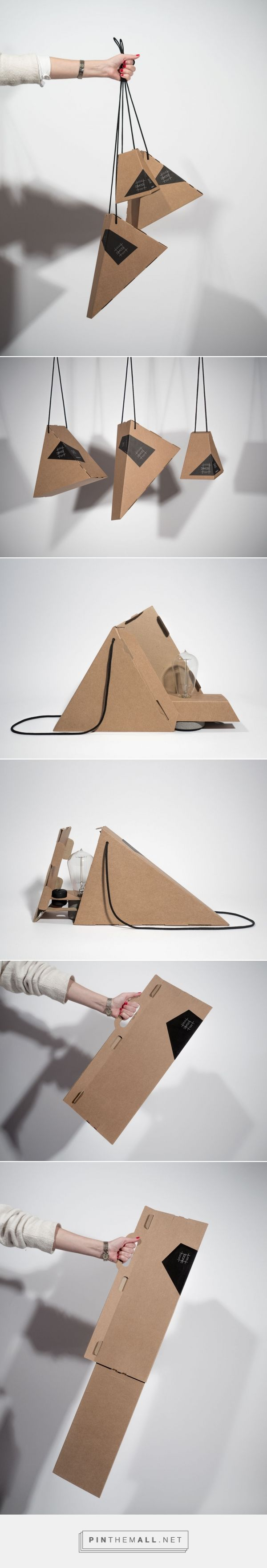 Simple Smart Modular lamps packaging design by talc design studio - http://www.packagingoftheworld.com/2017/05/simple-smart-modular.html