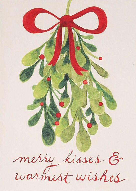 Merry Kisses & Warmest Wishes