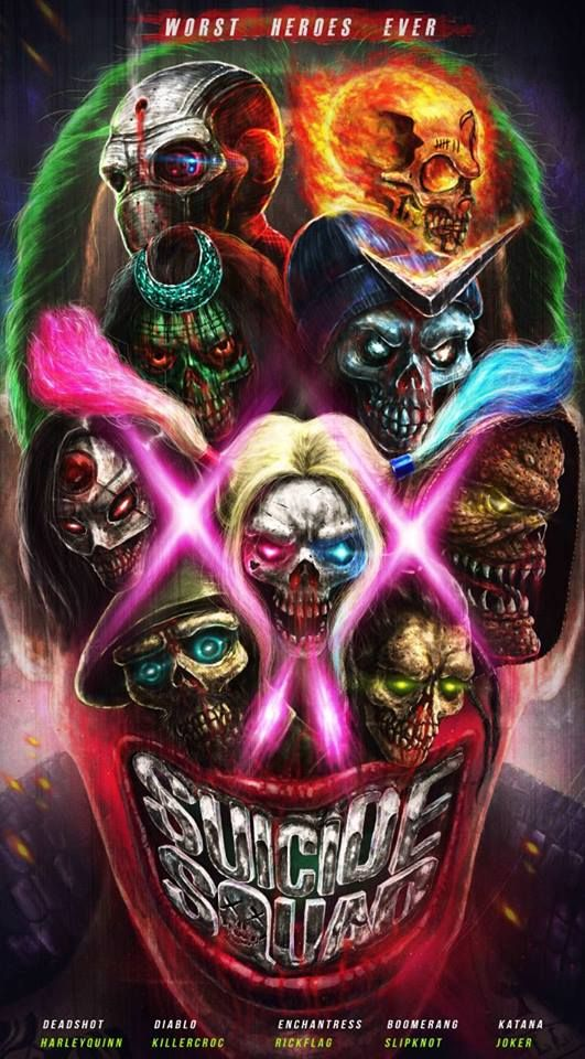 Suicide Squad by Joseph L. from Cebu, Philippines