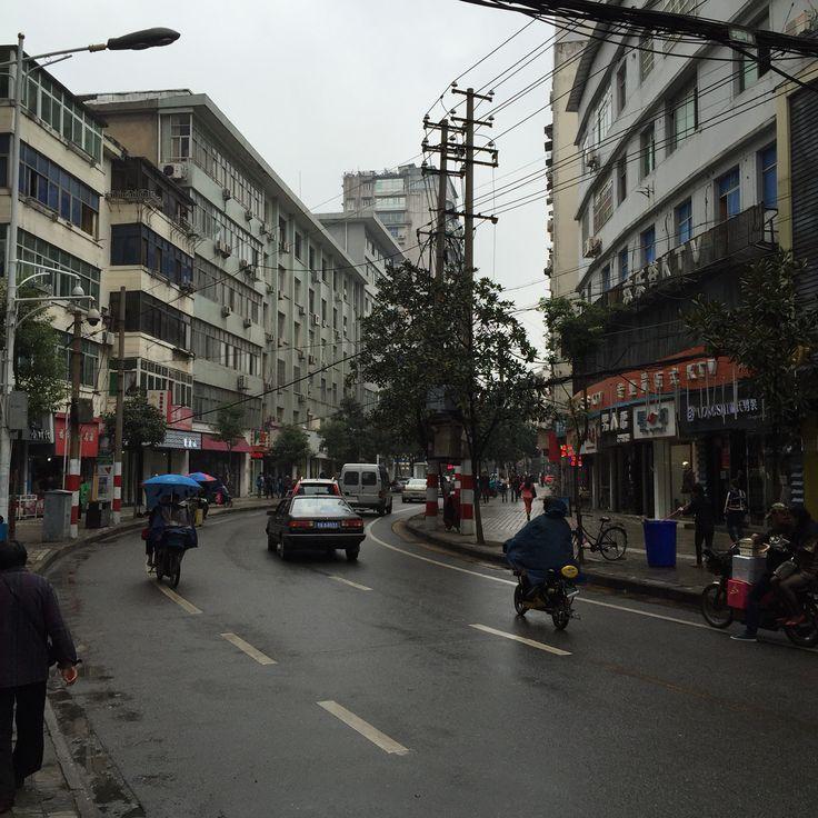 Nanchang, China. The city I was born in. First time I visit Nanchang.
