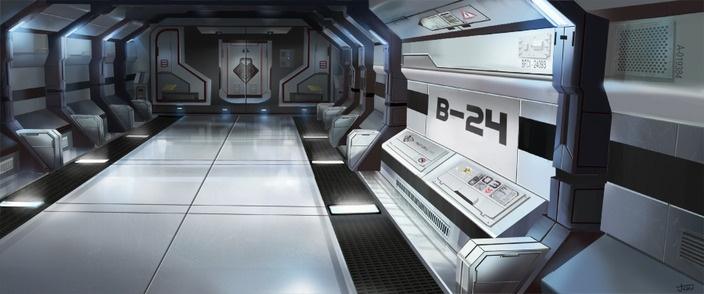 future spacecraft interior - photo #9