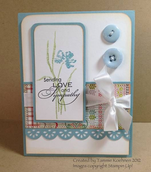 Sympathy Card Stampin Up! by Tammie27 - Cards and Paper Crafts at Splitcoaststampers