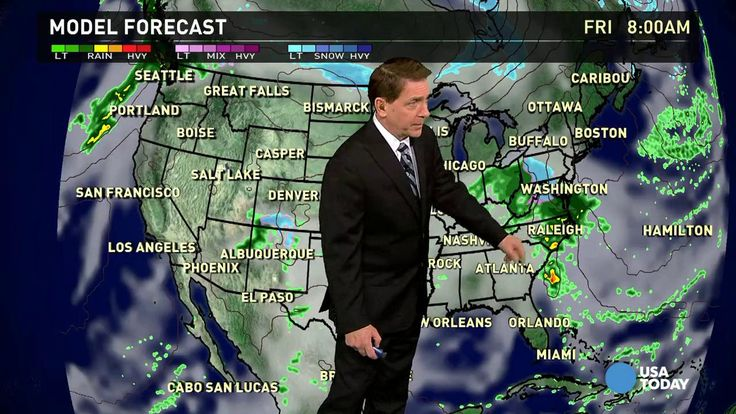 [video] Mar 19 - Thursday's forecast: Soggy in the South - The national weather forecast for Thursday, March 19 calls for rain in parts of the Tennesee and Ohio Valleys, Southeast and Gulf Coast region. Rain and thunderstorms will also make a sweep from the Four Corners to Kansas and Oklahoma.