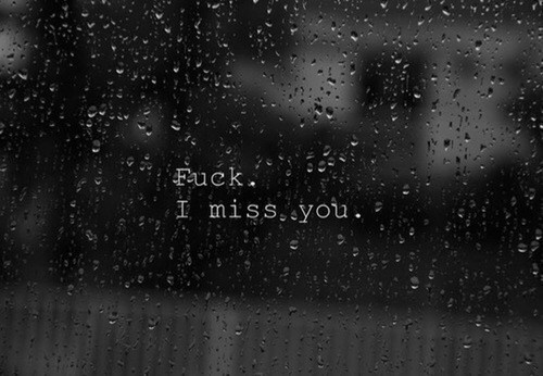 Fuck. I miss you. Plain and simple. Tired of everyone saying it's the best thing to happen. Fuck that. It's no ones business. No one understands that it wasn't easy on both sides. I don't think anyone intentionally cause pain. Just a bad timing. My heart is so empty and lost. I miss my best friend so much.