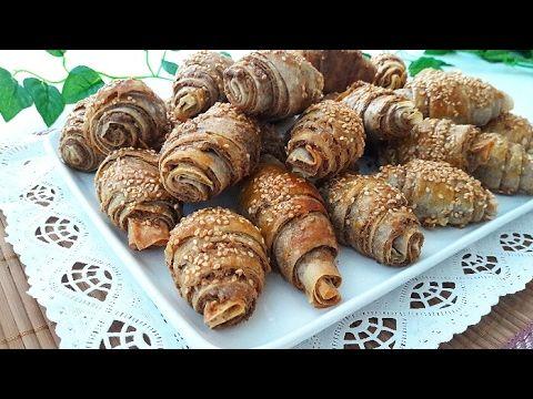 5 Dakikada Çıtır Çıtır Haşhaşlı Börek Tarifi-Börek Tarifleri-Gurbetinmutfagi - YouTube