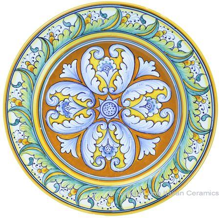 Deruta Italian Salad Plate