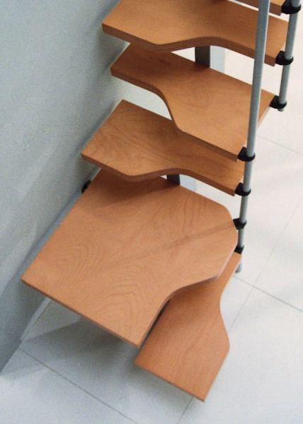 17 mejores ideas sobre escaleras para espacios reducidos en ...