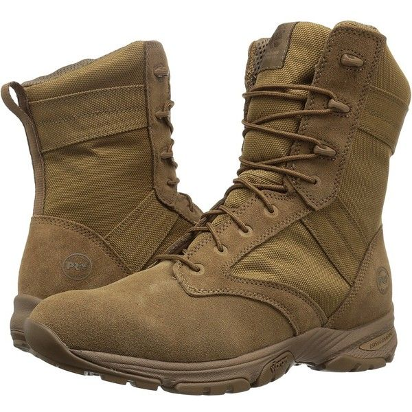 Timberland PRO 8 Valor Tactical (Taupe) Men's Work Boots (8.650 RUB) ❤ liked on Polyvore featuring men's fashion, men's shoes, men's boots, men's work boots, mens steel toe boots, mens boots, mens steel toe work boots, mens long boots and mens work boots
