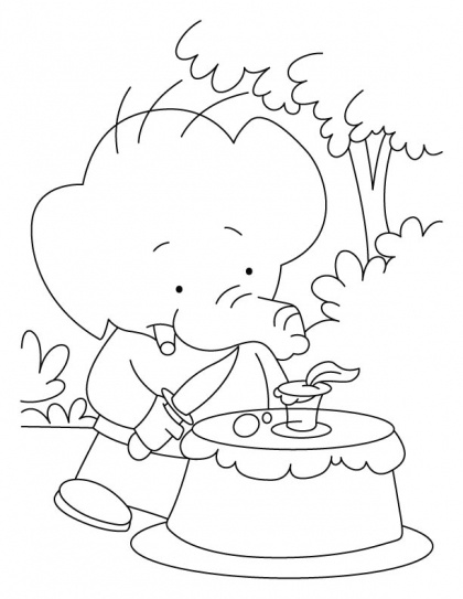 1000+ images about Birthday Coloring Pages on Pinterest ...