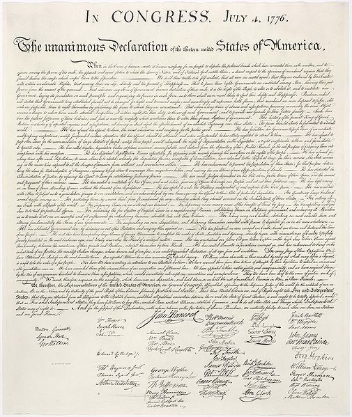 The Declaration of Independence, July 4th, 1776 by Thomas Jefferson et al. via wikipedia #Declaration_of_Independence #wikipedia: Worth Reading, American History, Fourth Of July, Happy, 4Th Of July, Declaration Of Independence, U.S. States, Independence Day, United States