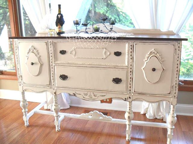 West furniture revival 35 beaut ious buffets painted for Furniture you put together