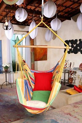 Cadeira Alegria, uma modelo de rede especial para sua leitura