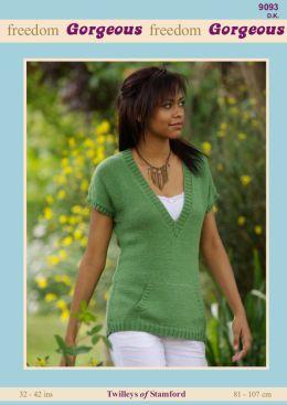 Twilleys DK Ladies Long Line Vest 9093