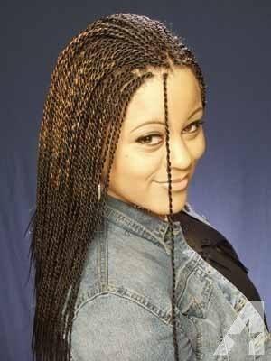 long micro senegalese braids - Google Search