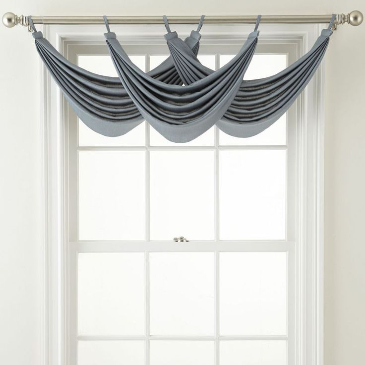 Jcpenney Royal Velvet 174 Ally Tab Top Waterfall Valance