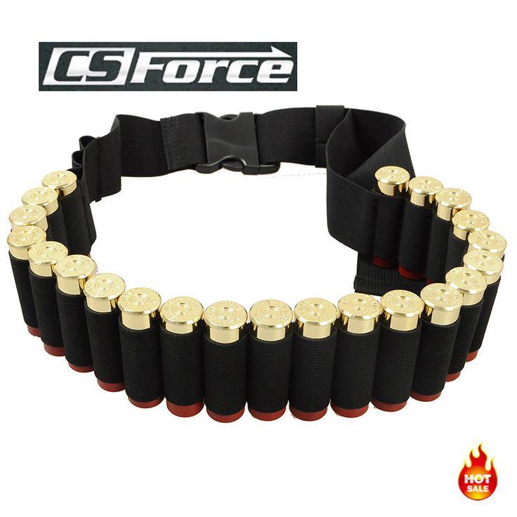 140*5CM Outdoor Airsoft Hunting Tactical 25 Shotgun Shell Bandolier Belt 12 Gauge Ammo Holder Military Shotgun Cartridge Belt [Affiliate]