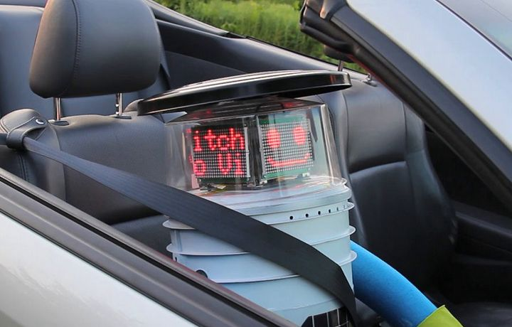 Retweeted by hitchBOT     Nicole Bogart @nlynnbogart     ·   Jul 29      What's it like to pick up a hitchhiking robot? Strange but cool, says one group: http://ow.ly/zIHPx  Go @hitchBOT!
