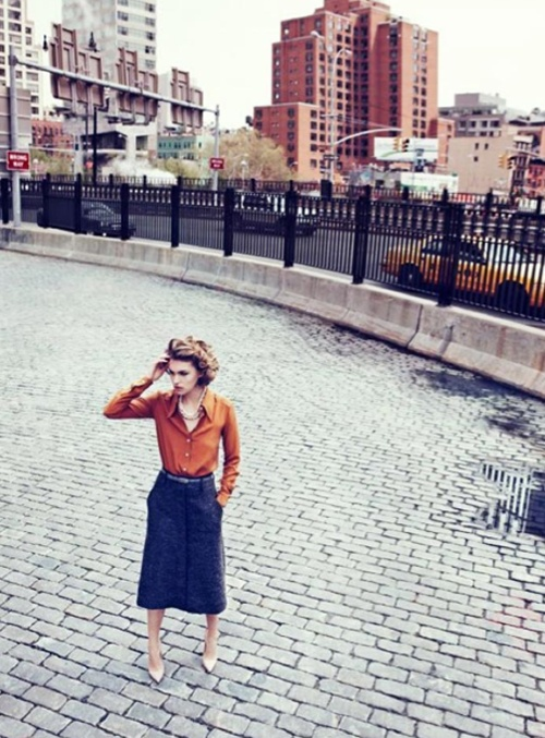 like a ladyAlmond, Work Clothing, Skirts, Burnt Orange, Lachlan Baileys, Everyday Style, Vogue Uk, Arizona Muse, Urban Fashion