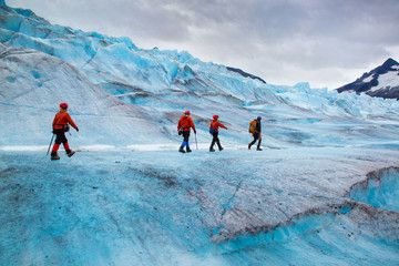Been there, Done that, Loved it, Want to do it again... walking on Mendenhall Glacier, Alaska, USA