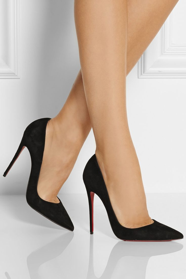 No platform, no spikes, no rounded or peep toe. Why bother to attempt to improve perfection?