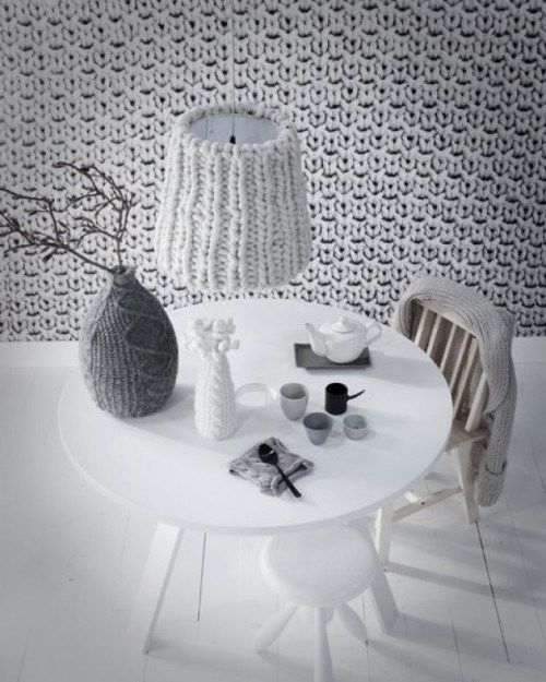 Contemporary Knitting Ideas For The Home Collection - Home ...