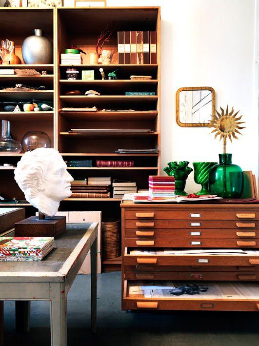 archive drawers and shelves via Howard Slatkin! @TheDailyBasics loves!