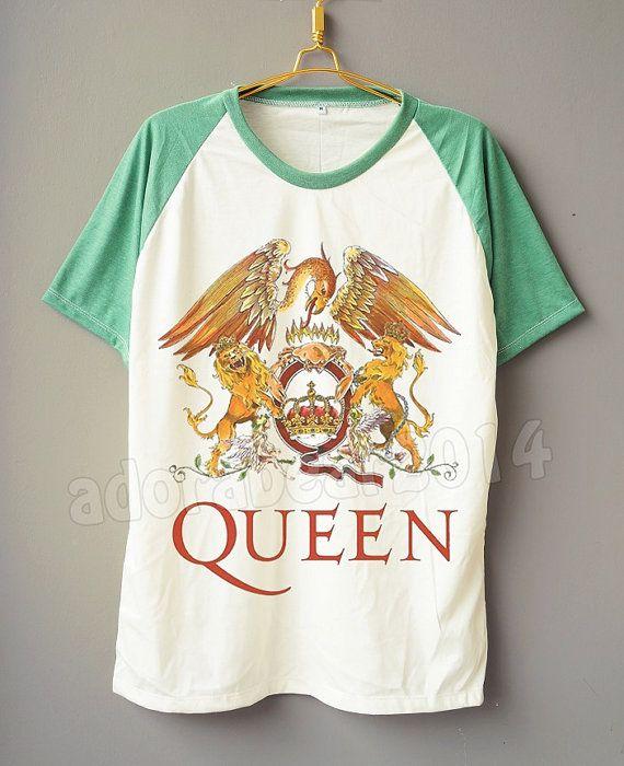 QUEEN T-Shirt Freddie Mercury T-Shirt British Rock T-Shirt Short Sleeve Shirt Short Baseball Shirt Unisex T-Shirt Women T-Shirt Men T-Shirt